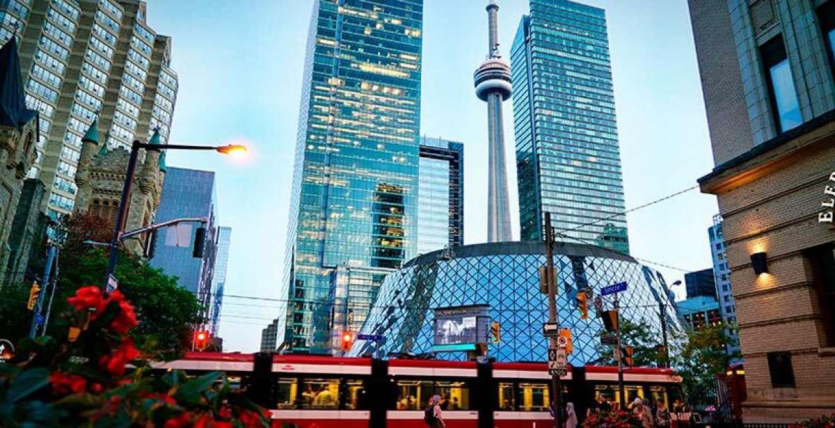 Toronto skyline from King St.