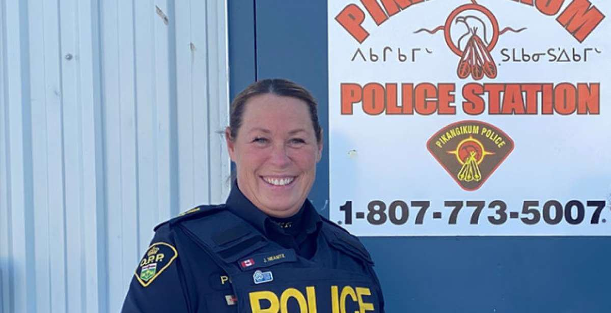 Laurier Student Wins Provincial Award For Outstanding Achievement in Law Enforcement