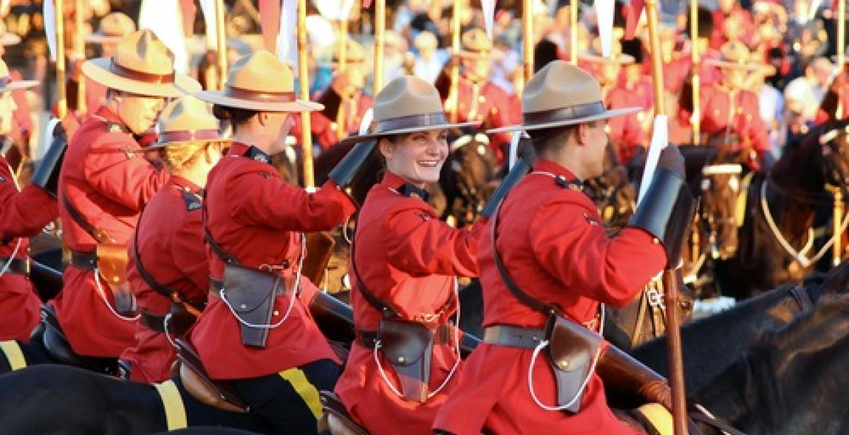 History of the Canadian Mounted Police Blog Header
